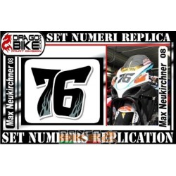 Race number 76 Max...