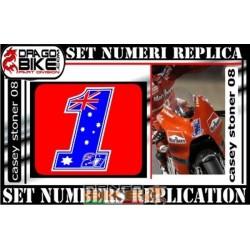 Numero Gara 1 Casey Stoner 08