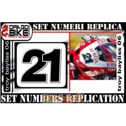 Race number 21 Troy Bayliss 06