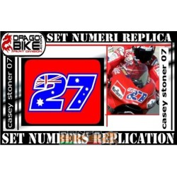 Race Number 27 Casey Stoner 07