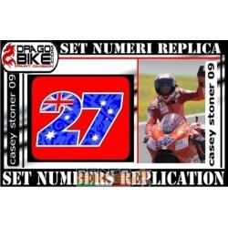 Dorsal 27 Casey Stoner 09