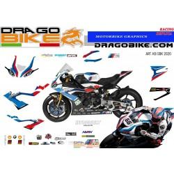 Adhesivos Moto BMW SBK 2020
