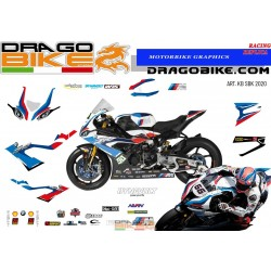 Motorbike Stickers BMW SBK...