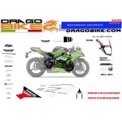 Race stickers kit Kawasaki...