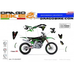 Motocross stickers kit...