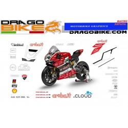 Kit de pegatinas Ducati SBK...