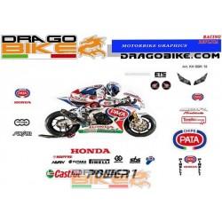 Kit de pegatinas Honda SBK...