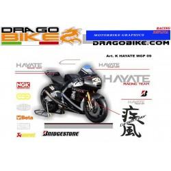 Adhesivos Moto Hayate...