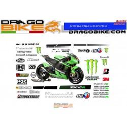 Stickers Kit Kawasaki ZX -...