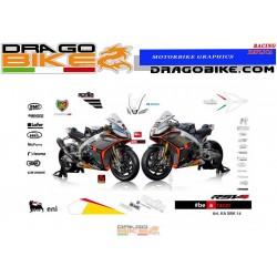 Adhesivos Moto Aprilia SBK...