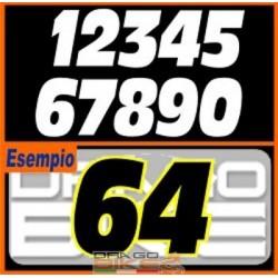 Set Number for race tape I