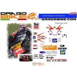 Stickers Kit Aprilia RSV...