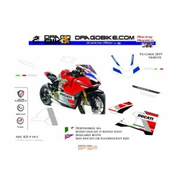 "Adhesivos Moto  Ducati ""V4..."