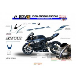 Adhesivos Moto Yamaha SBK GYTR
