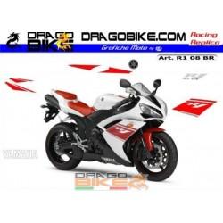 Adhesivas Motos R1 2008...