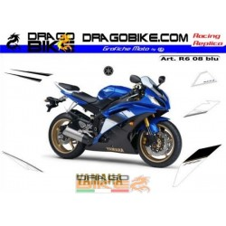 Stickers kit Yamaha R6 2008...