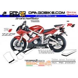 Kit Adhesivo moto Yamaha R6...