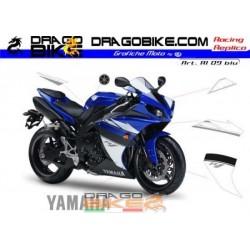 Stickers Kit Yamaha R1 2009 Blue