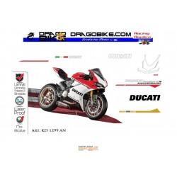 Motorbike Stickers Kit  Ducati Replica Originali 1299 Panigale S  Anniversario