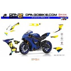 Adhesivos Moto Yamaha R1...