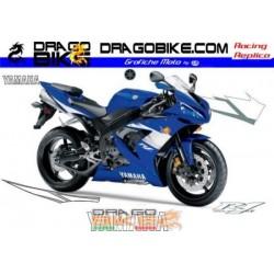 Kit Yamaha R1 2005 Azul