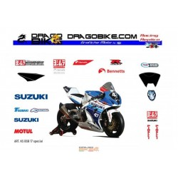 Kit pegatinas Suzuki BSB...