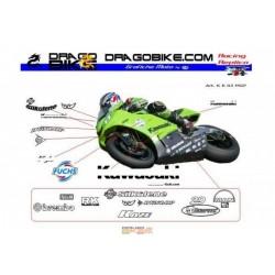 Kit Ahesivo moto Kawasaki...