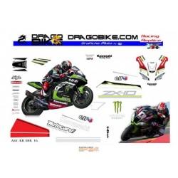 Kit Kawasaki SBK Test 15
