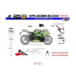 Race stickers kit Kawasaki SBK 2014 Street Version ZX10R
